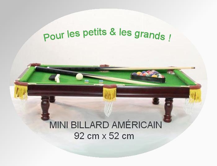 Billard Américain 0.90 m